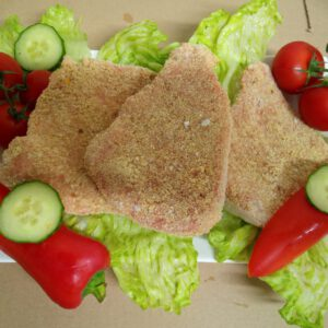 Schnitzel (paniert)<br />120g, 600g