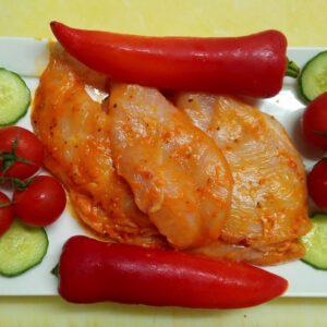 Hähnchensteak Chili